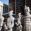 Xian China Terracotta Warriors promotion for Field Museum exhibit in Daley Plaza