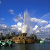 Buckingham Fountain is one of the nation's finest fountains located in Grant Park on the lakefront