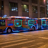 Chicago Transit Authority CTA holiday bus Santa Claus