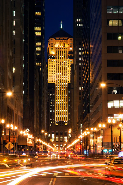 The Chicago Board of Trade (CBOT), is the world's oldest futures and options exchange, designed by architects Holabird & Root