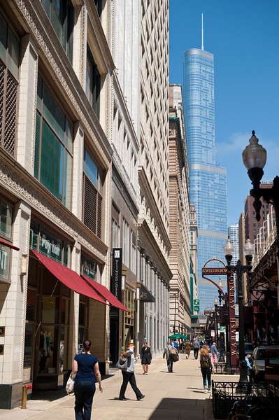 Jewelers Row in Chicago's Loop.