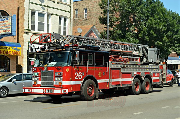 """Truck Co. 26 """"Pride of the West Side"""""""