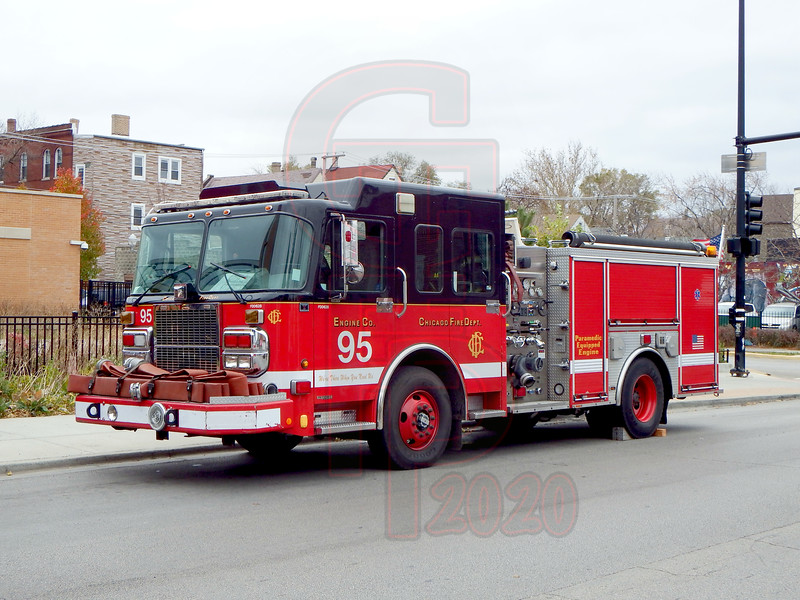 """Engine Co. 95 """"Pride of the West Side"""""""