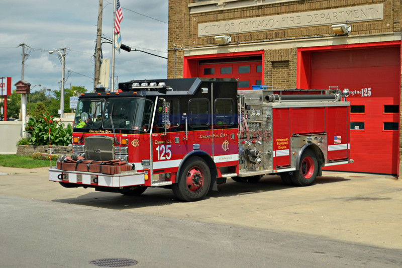 Chicago Fire Department apparatus and fires