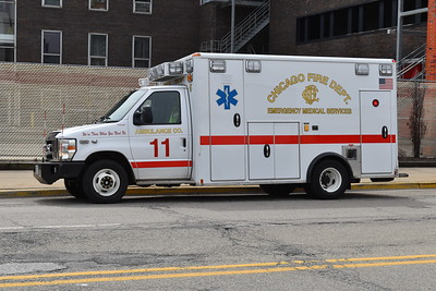 CFD Ambulance 11