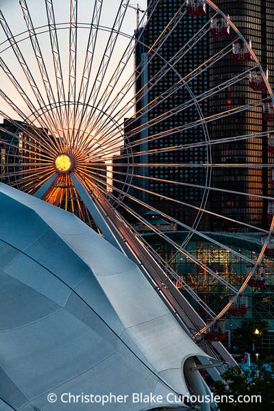 Navy Pier Ferris Wheel- Chicago -5