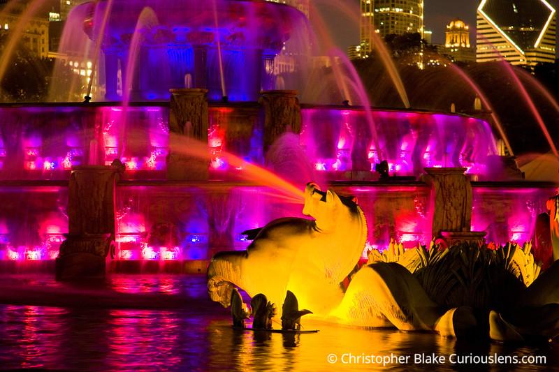 Clarence Buckingham Fountain - Chicago