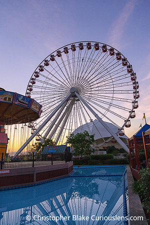 Navy Pier Ferris Wheel- Chicago -1