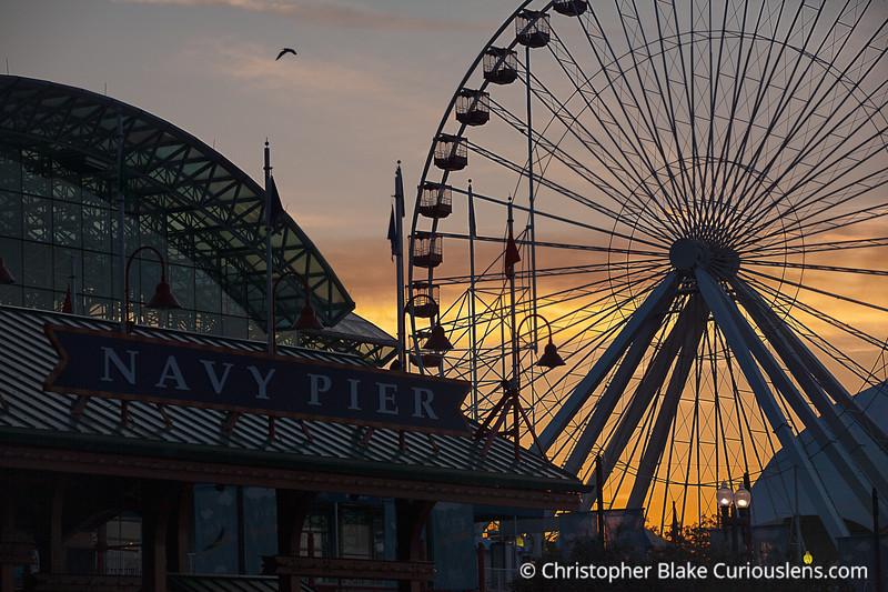 Navy Pier Ferris Wheel- Chicago -4