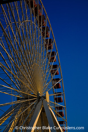 Navy Pier Ferris Wheel- Chicago -3