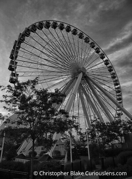 Navy Pier Ferris Wheel- Chicago -2