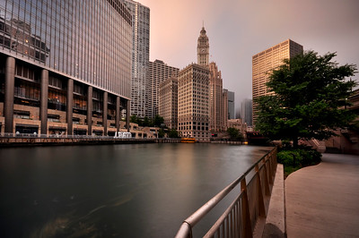 Wrigley Building and Chicago River, Chicago