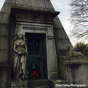 Schoenhofen Tomb, Graceland Cemetary Chicago