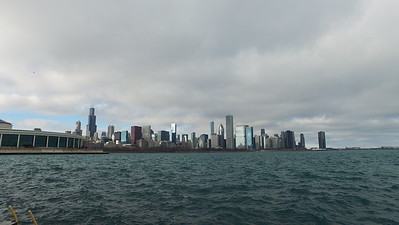 Lake Michigan and downtown Chicago