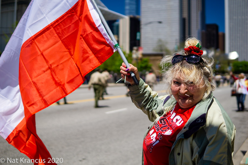 Polish Constitution Day Parade, Chicago, May 2017