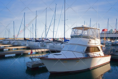 Chicago City Boat Marina on Lake Michigan