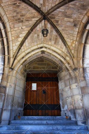 Limestone Gothic Doorway