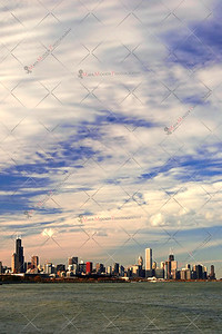 View of the Chicago Skyline