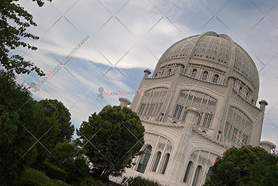 The Baha'i House of Worship - Wilmette, Illinois
