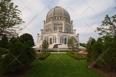 The Baha'i House of Worship - Wilmette Illinois