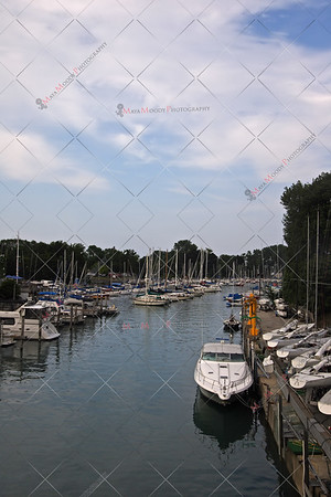 Boat Marina on Lake Michigan