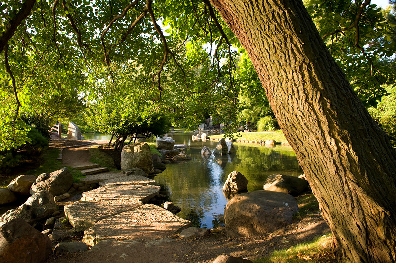 Osaka Garden in Jackson Park, once the site of the 1893 World's Columbian Exposition.