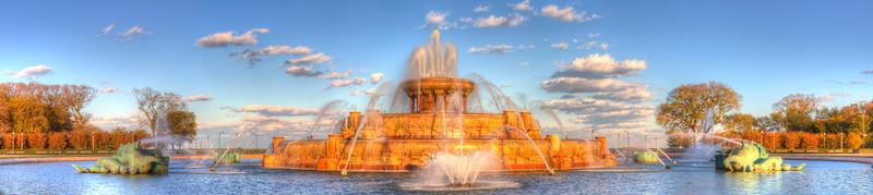 Shining on Buckingham Fountain