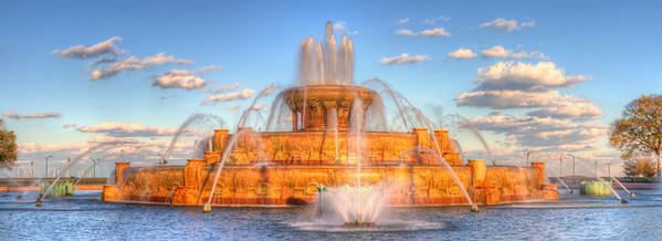 Buckingham Fountain in Summer