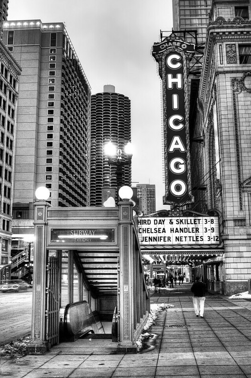 State Street in Chicago