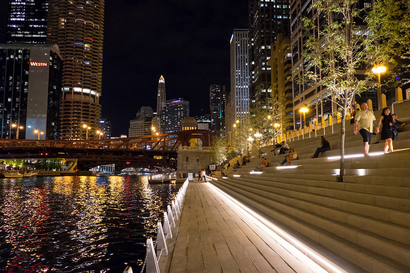 The Chicago Riverwalk, River Theater