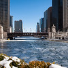Chicago River, winter