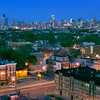 Neighborhood View the Chicago Skyline