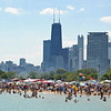 Lake Michigan North Avenue Beach