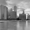 Fozen Skyline - From Olive Park, Chicago