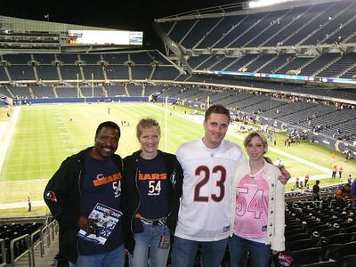 Chicago Sports with Team Zebra
