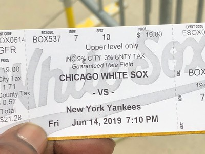 20190614 CHICAGO WHITE SOX take on the Bronx bombing NEW YORK YANKEE