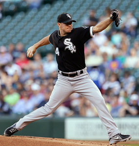 Watch on FOX as Jake Peavy makes his return for the White Sox in Game 2 of interleague matchup against the Braves at 3:05 CT: http://atmlb.com/1azu35W