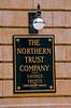 Northern Trust Bank architectural detail