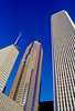 AON Center and Prudential Plaza