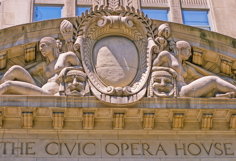 Civic Opera House architectural detail