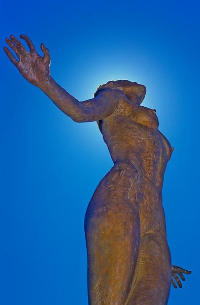 Statue on Navy Pier