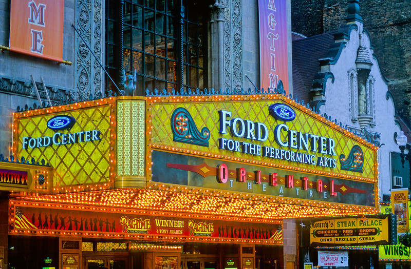 Ford Center for the Performing Arts Oriental Theater