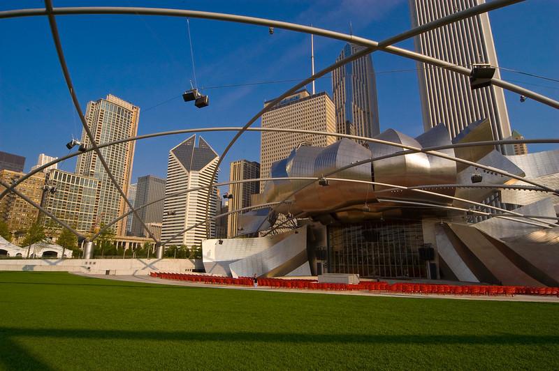 Jay Pritzker Pavilion at Millenium Park