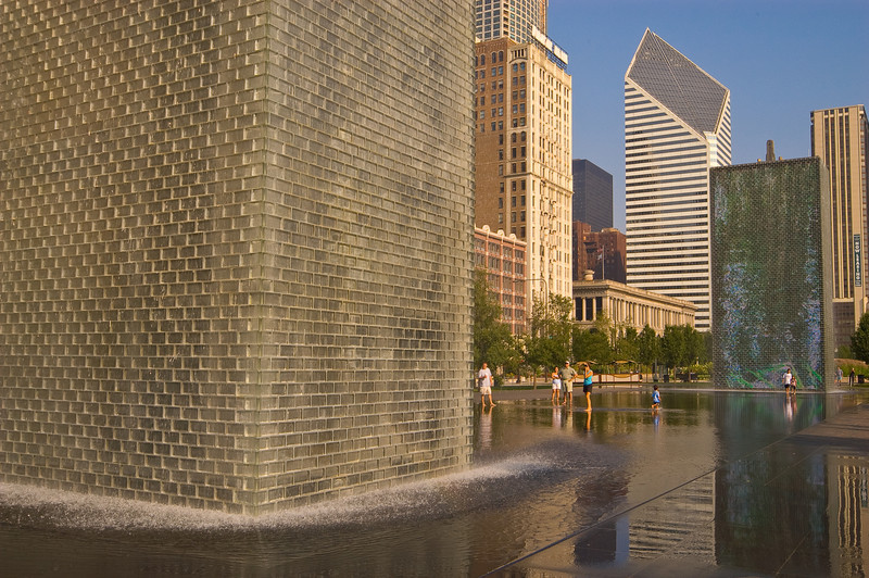 Crown Fountain at Millenium Park