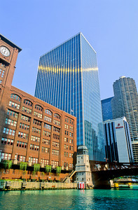 View from Chicago River