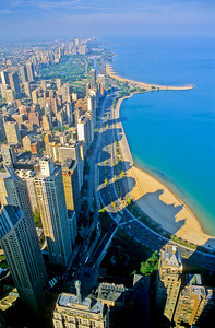 Lake Shore Drive from Hancock Building Skydeck