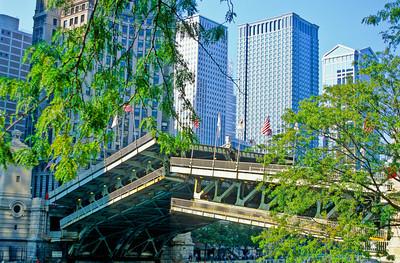 Chicago River at Michigan Avenue Bridge