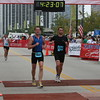 Two of Nearly 8,000 Weekend Finishers