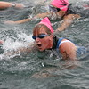 Swim Cap Knocked Off in the Fray