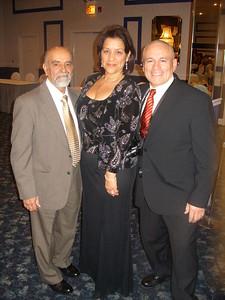 International VP Mike Ramos, International President Mario Nieves & Missy